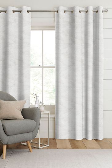 Darby Silver Grey Made To Measure Curtains