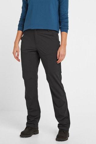 Tog 24 Black Denver Womens Tech Regular Walking Trousers