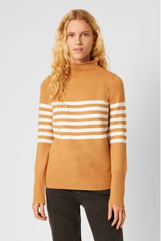 French Connection Natural Placement Stripe Jumper