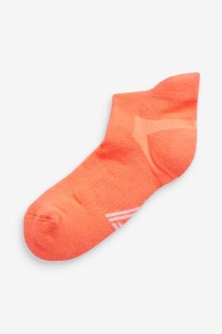 Neon Blister Resist Sports Trainer Socks Two Pack