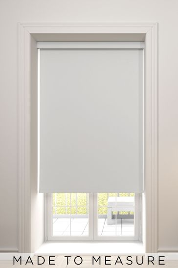 Haig Silver Made To Measure Blackout Roller Blind