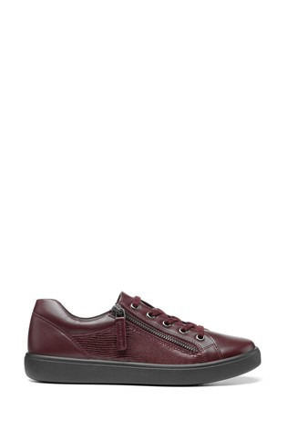 Hotter Chase Slim Fit Zip Fastening Pump Shoes