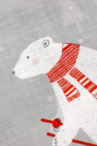 Polar Bears Duvet Cover and Pillowcase Set by Fusion