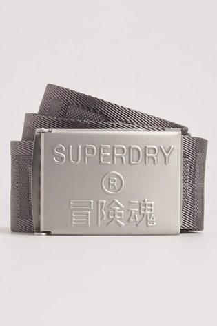 Superdry Montauk Fabric Belt