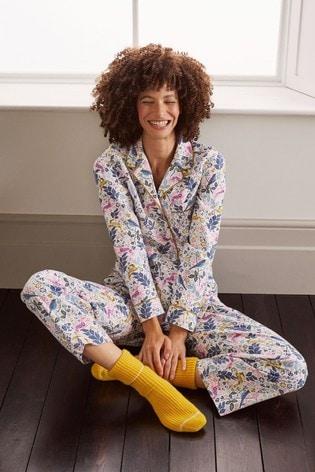 Boden Cream Vanessa Cosy Pyjamas