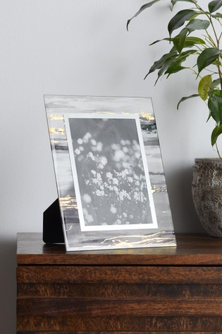 Abstract Glass Frame