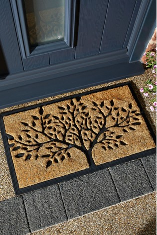 Pride Of Place Chadderton Tree Of Life Coir Doormat