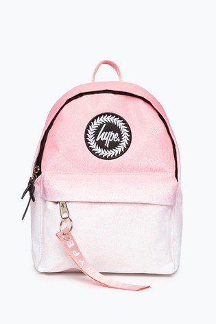 Hype. Pink Blush Speckle Fade Mini Backpack