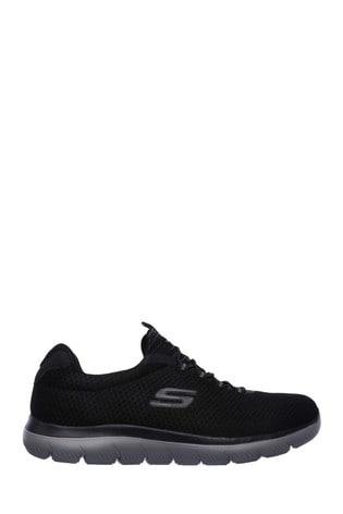 Skechers® Black Summits Sports Trainers