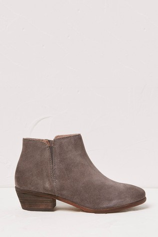FatFace Grey Lytham Ankle Boots