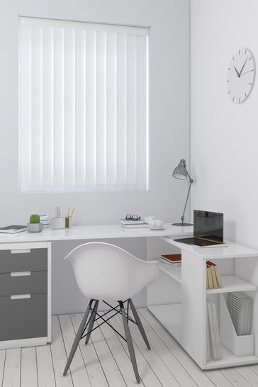 Abstract Texture Cloud White Made To Measure Vertical Blind