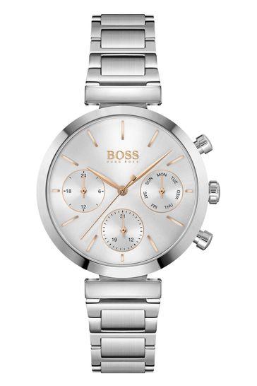 BOSS Flawless Stainless Steel Bracelet Watch