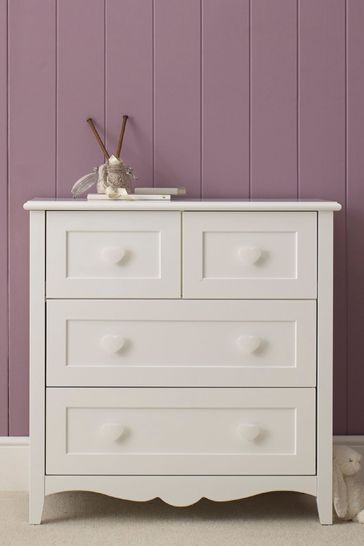Princess 4 Drawer Dresser By The Childrens Furniture Company