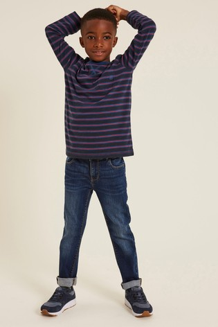 FatFace Blue Mid Slim Jeans