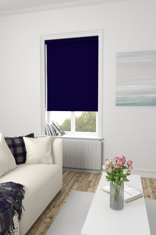 Haig Blackberry Purple Made To Measure Blackout Roller Blind