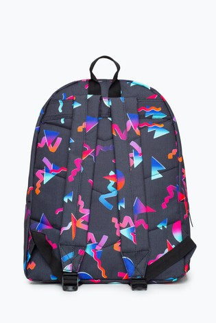 Hype. Multi Neon Shapes Backpack