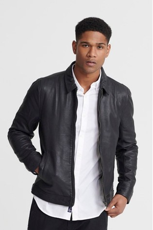 Superdry Lightweight Leather Curtis Jacket