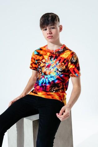 Hype. Kids Multi Lion Tie Dye T-Shirt