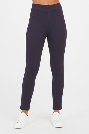 SPANX® Navy 4 Pocket Leggings