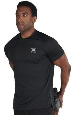 Raging Bull Black Performance T-Shirt