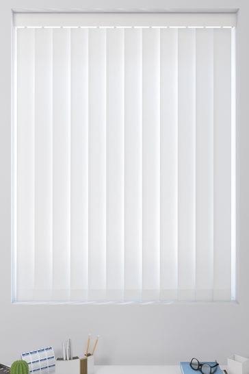 Waterproof White Made To Measure Vertical Blind