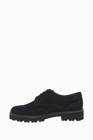 Buy Gabor Sweep Black Suede Fashion