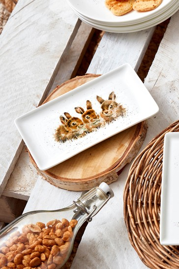 Royal Worcester Wrendale Rabbit Tray