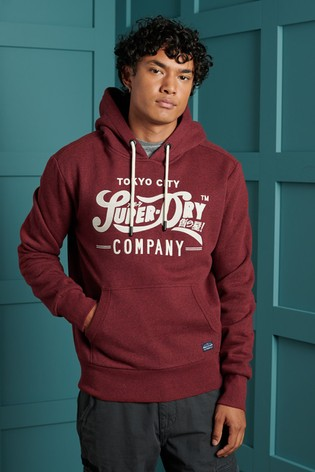 Superdry Reworked Classics Applique Hoody
