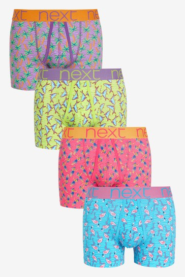 Summer Print A-Fronts 4 Pack