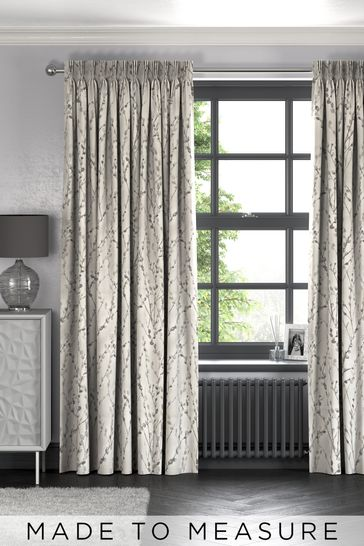 Willow Grey Made To Measure Curtains