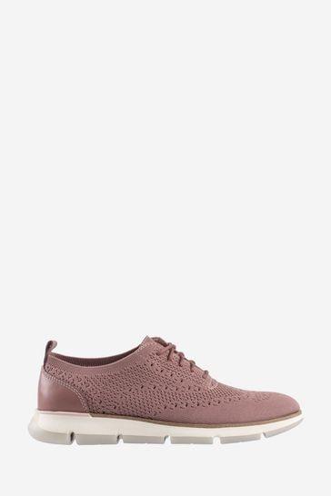 Cole Haan Pink Zerogrand Stitchlite Oxford Trainers