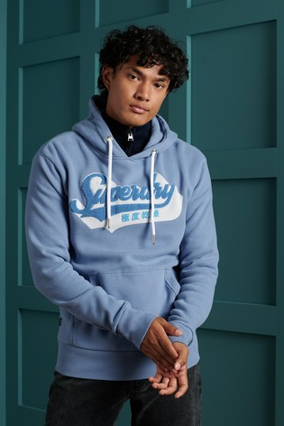Superdry Limited Edition Chenille Shadow Hoodie