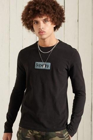 Superdry Core Logo Workwear Long Sleeve Top