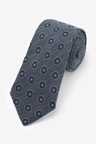 Sage Signature Geometric 'Made in Italy' Tie