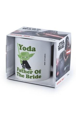 Star Wars Yoda Father Of The Bride Mug