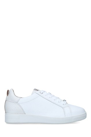 Carvela Comfort White Curious Trainers