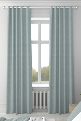 Windsor Seafoam Green Made To Measure Curtains