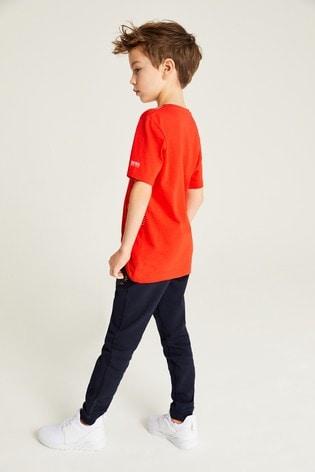 BOSS Red Techinal Logo T-Shirt