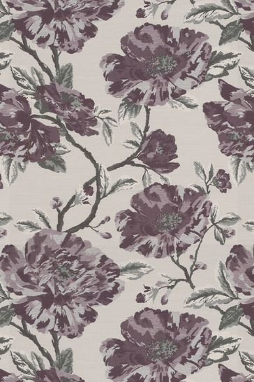 Cassandra Mulberry Purple Made To Measure Curtains