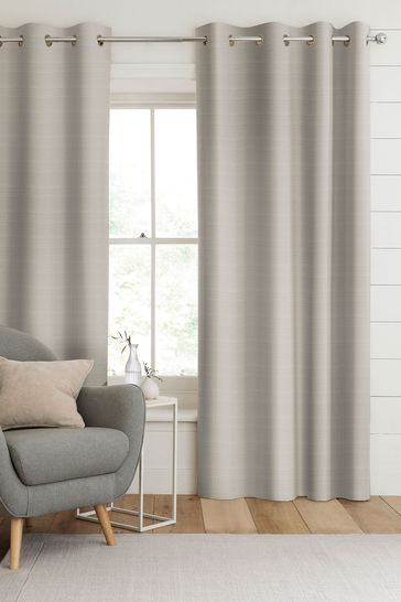 Jasper Dove Grey Made To Measure Curtains