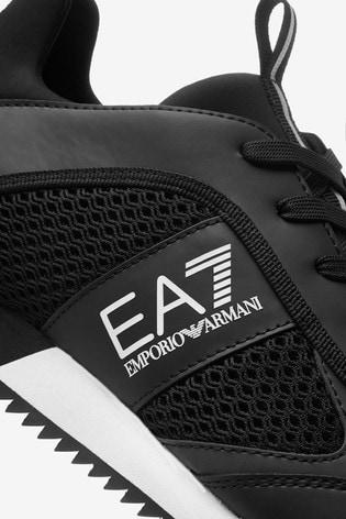 Emporio Armani EA7 Evolution Lace-Up Racer Trainers