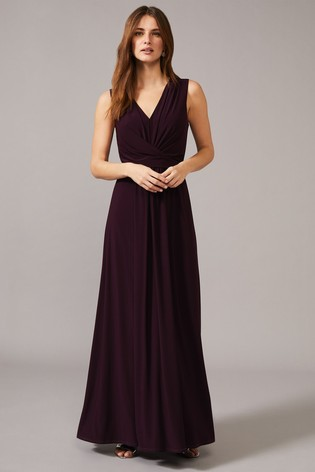 Phase Eight Red Althea Jersey Maxi Dress