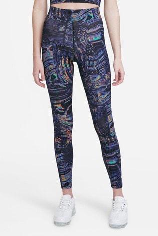 Nike Sportswear All Over Print High Waisted Leggings
