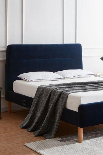Nodd Smart Bed Blue Velvet By Koble