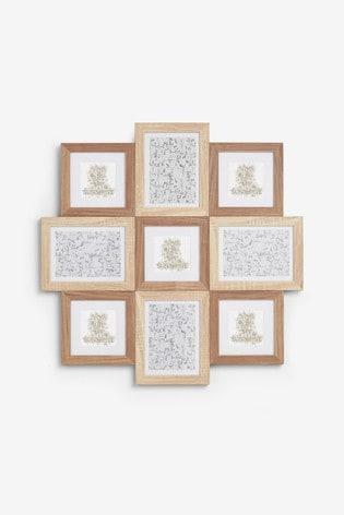 Wood Effect Multi Aperture Frame