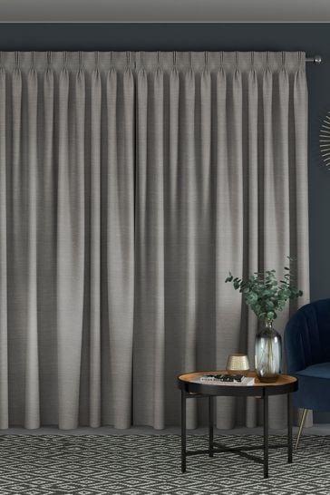Jasper Fog Grey Made To Measure Curtains