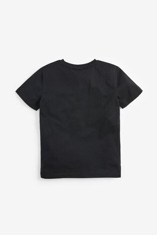 Black PlayStation™ Galactic Controller T-Shirt (3-16yrs)