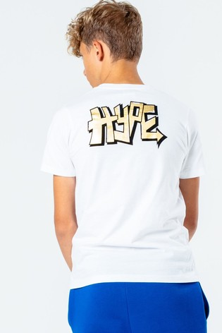 Hype. Kids White Tag T-Shirt