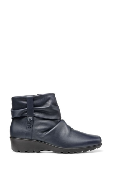 Hotter Eltham Wide Fit Zip Fastening Ankle Boots