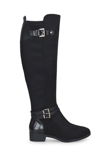 Miss KG By Kurt Geiger Black Heston Boots